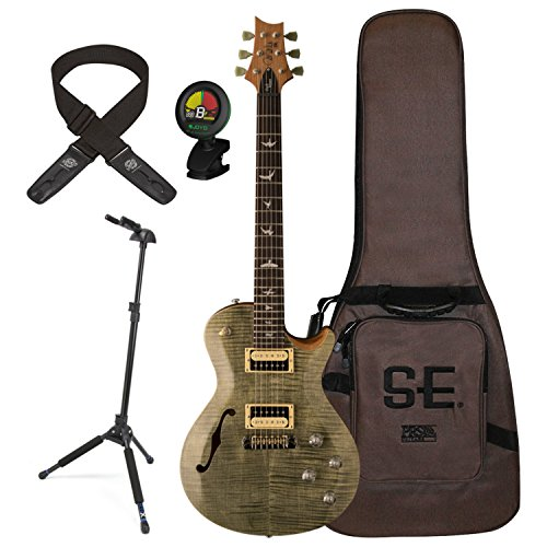 PRS ZM3TG Zach Myers Electric Guitar Trampas Green w/ Gig Bag, Stand, Tuner, and Lock-it Strap -
