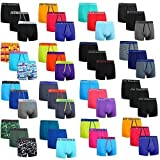 Get The Trend 3,6,12 Packs Mens Boxer Cotton Rich Shorts Underwear Trunks Gifts New Size S M L XL (3 Pack Random Design Small)