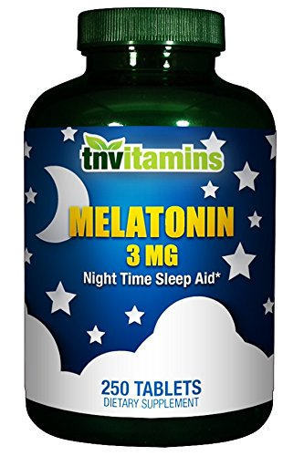 Amazon.com: Melatonin 3 Mg - 250 Tablets: Health & Personal Care
