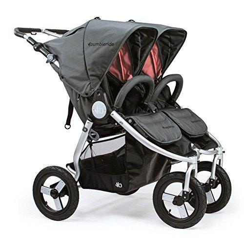 Bumbleride 2018 Indie Twin Stroller, color = Dawn Grey (Indie Stroller)