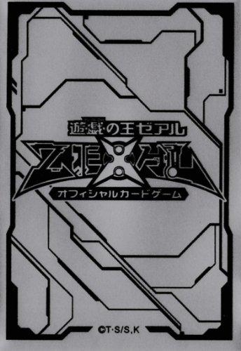 (100) YU-GI-OH Card Deck Protectors new ZEXAL Card Sleeves silvery