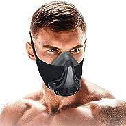 SATKULL Training Mask 3.0, Gym Workout Mask for Men, Elevation Mask for for Cardio, Running, Endurance and Bre