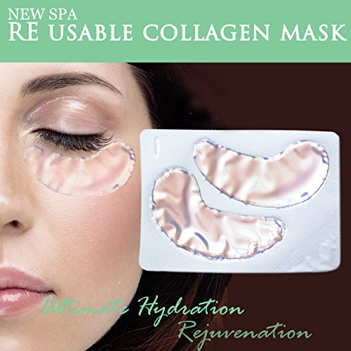 Toning Anti-Age Collagen Eye Patch with Red Wine Extract and Reversatrol, 5 patches - Red Wine Collagen Mask