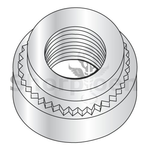 weight8.46Lbs Metric Self Clinching Nut Zinc M5 x 0.8-2 Box of 5000