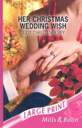 Download Her Christmas Wedding Wish (Romance Large Print) pdf epub