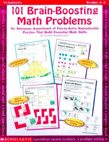 Amazon.com: 101 Brain-Boosting Math Problems (Grades 4-8 ...