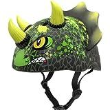 Raskullz T-Chopz Triceratops Helmet, 5+ Years, T-Chopz Black