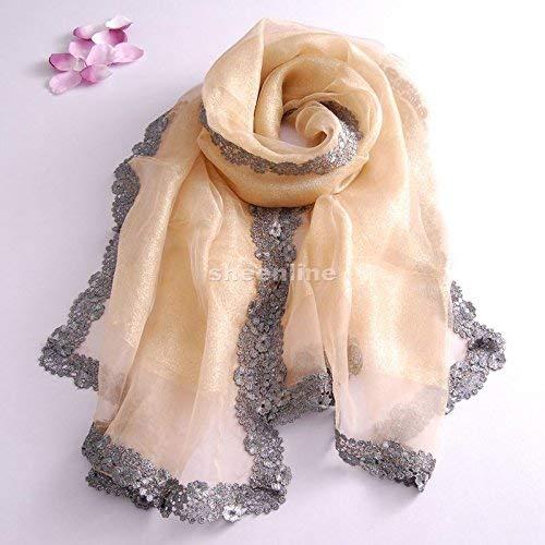 E Moda Blau Lunga Chiffon Stampa rosaa Chic Elegante Sciarpe Euzeo Fazzoletto Wrap Sciarpa Scialli Ragazza Fiore Donna 4dwxqd7Z