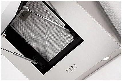 PKM DH-9042 campana extractora de 60 cm de acero inoxidable, protector de pantalla de cristal para chimenea de la capilla, con diseño de la pared de la capilla de: Amazon.es: Hogar
