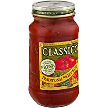 Classico Traditional Sweet Basil Tomato Pasta Sauce, 24 Ounce