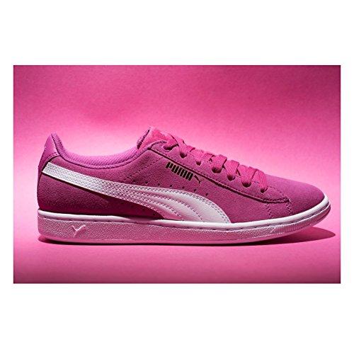 femme Puma pour Baskets Rose Sports blanc Baskets Chaussures Officiel Sneakers Vikky xXqF5XS