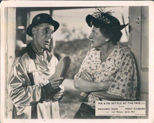 MA AND PA KETTLE AT THE FAIR ORIGINAL BRITISH LOBBY CARD MARJORIE MAIN (Ma And Pa Kettle At The Fair)