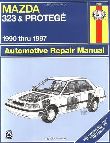 mazda 323 protege 1990 thru 1997 automotive repair manual louis rh amazon com Interior Mazda Astina Mazda Astina Setup