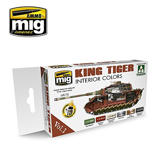 ammo-of-mig-jimenez-king-tiger-interior-colors-special-takom-edition-vol1-7165