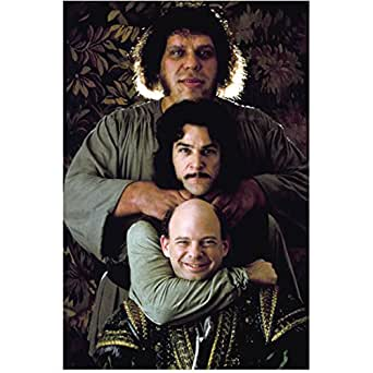 The Princess Bride Mandy Patinkin, Wallace Shawn and Andre' the Giant Goofin Pose 8 x 10 Inch Photo