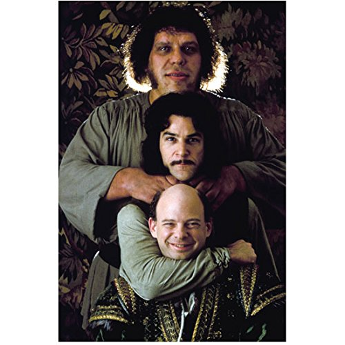 The Princess Bride Mandy Patinkin, Wallace Shawn and Andre' the Giant Goofin Pose 8 x 10 Inch Photo - Giants 8x10 Picture