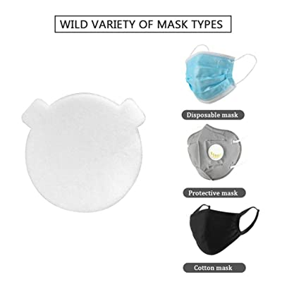 1Pcs Disposable Air Purifying Respirator Face Mask Pad Safety Insert Protective Mouth Mask Filter Face Masks Gasket