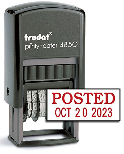 Trodat 4850 Date Stamp with