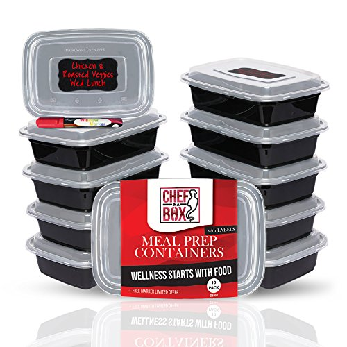 Containers Microwave Dishwasher Leak Proof Compartment