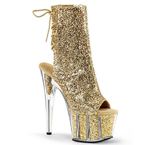 Dancer Platform (Pleaser Adore-1018G Sexy Exotic Dancer Clubwear Ankle/Mid Calf 7