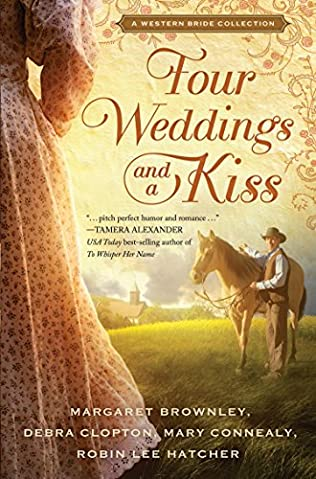 book cover of Four Weddings and a Kiss