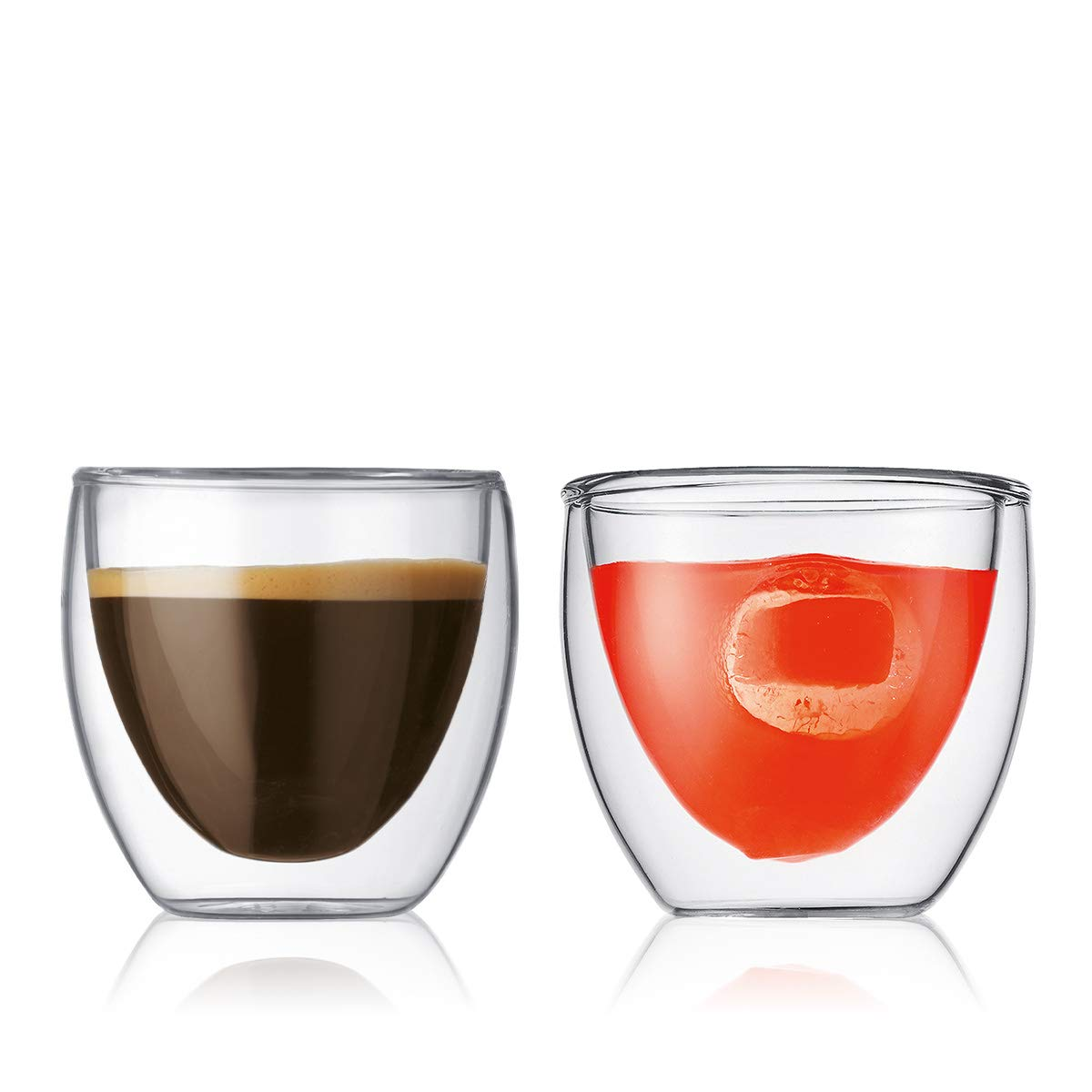 Bodum PAVINA Glasses, 0.08 Litre