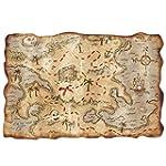 Beistle 55305 Plastic Treasure Map, 1...
