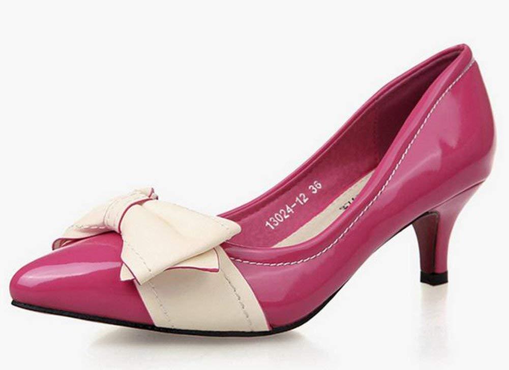 Oudan Butterfly - Wenig Mit Dem Damen - Schuhe Rosa 37 (Farbe   Wie Gezeigt Größe   Einheitsgröße)