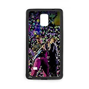 Coldplay Samsung Galaxy Note 4 Cell Phone Case Black JD7699465