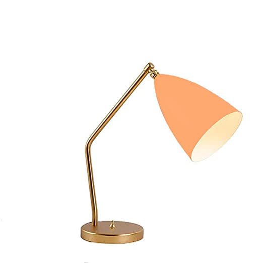 OOFAY BXD Lámpara De Mesa Moderna Simple Protección Retro De Los ...