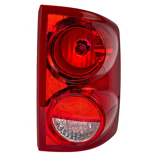 Passengers Taillight Tail Lamp Replacement for Dodge Pickup Truck 55077604AC ()