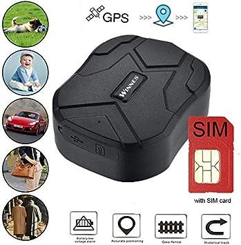 Rastreador GPS con Tarjeta SIM, Rastreador en Tiempo Real a Prueba ...