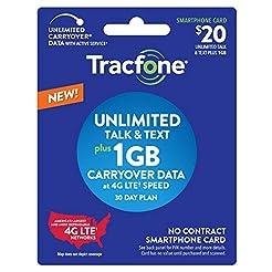 New Tracfone $20 Unlimited Talk, Text, 1...