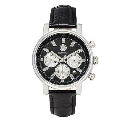 """ IVth Dimension "" Genuine Leather Chronograph Luxury Sport watch by Michael Zweig"