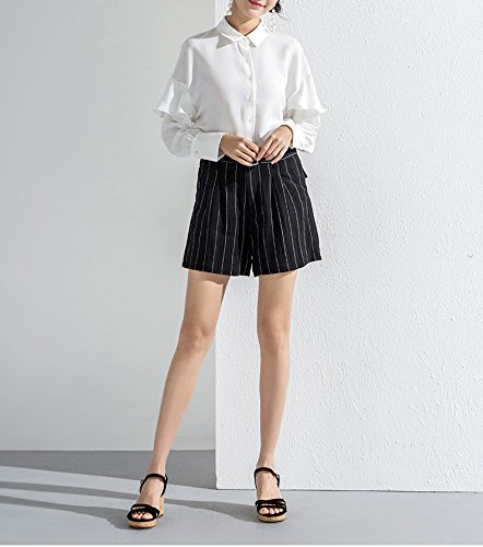 Sko Casual Spids Mode Sandaler 36 Hæle Dhg Sort Solid Kvinder Søde Lave Flad Sommer Farve Hæle Høje BxFqXY