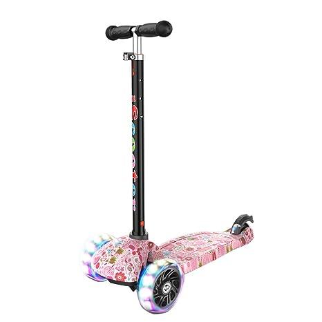 BAAYD - Patinete para niños, Triciclo con Patinete, Manillar ...