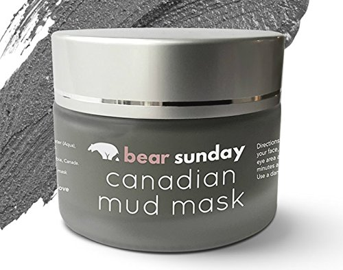 Mineral Face Mask With Mud Clay From Canada  Minimizer Of Oily Skin  Pore Reducing  Shrinking  Acne Control  Deep Cleansing Skin Tightening Exfoliating Women Men