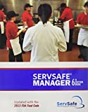 img - for ServSafe Manager 6th Edition Updated with the 2013 FDA Food Code ESX6R with Exam Answer Sheet book / textbook / text book