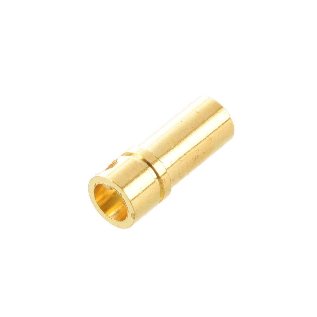 SODIAL Conector del motor R 20 pares 3.5 mm Chapado en oro Conectores electronicos del motor clavija de platano