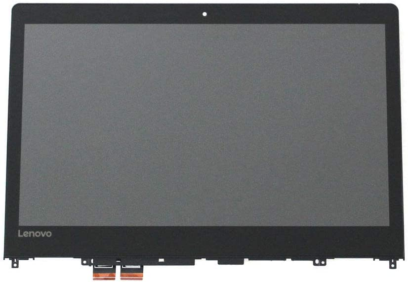 "JYLTK New Genuine 14"" FHD LCD Screen LED Display + Touch Digitizer + Bezel Frame Assembly for Lenovo Ideapad Flex 4-14 1470 1480 80SA 80VD 80S7 Yoga 510-14IKB"