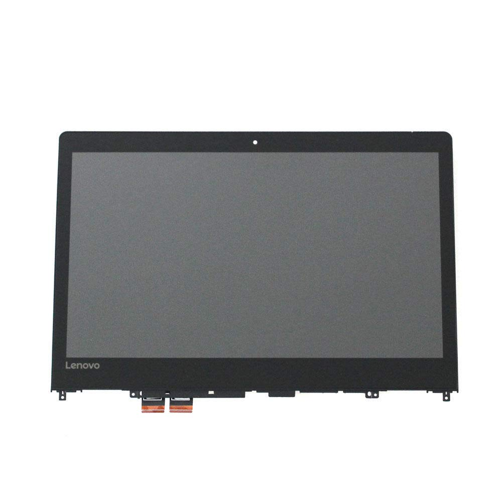New Replacement 14'' FHD (1920x1080) LCD Screen IPS LED Display + Touch Digitizer + Bezel Frame Assembly for Lenovo Ideapad Flex 4-14 1470 1480 80SA 80VD 80S7 Yoga 510-14IKB