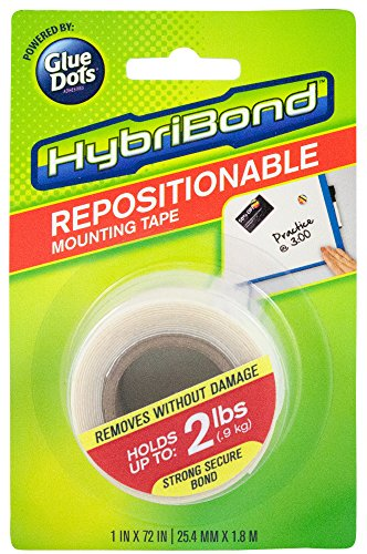 (Glue Dots International HybriBond Repositionable Mounting Tape)