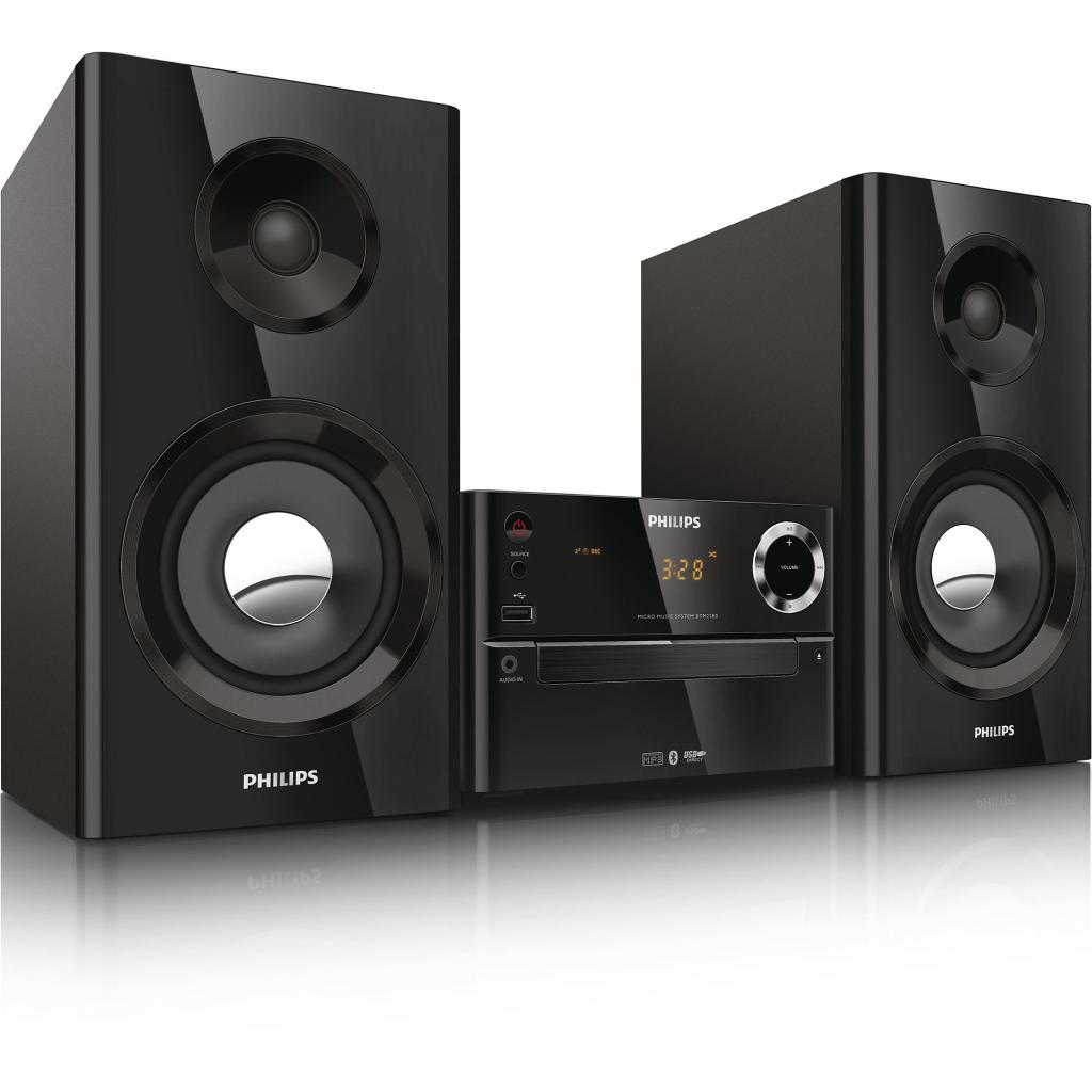 Amazon Com  Philips Btm2180  37 Micro Music System Black  Home Audio  U0026 Theater