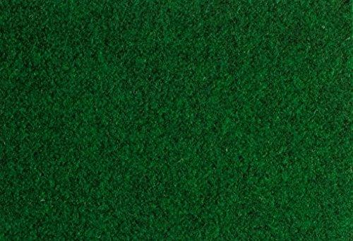 Andiamo 200959 Kunstrasen Field, Rasenteppich mit Drainage-Noppen, Festmaß 133 x 400 cm, grün