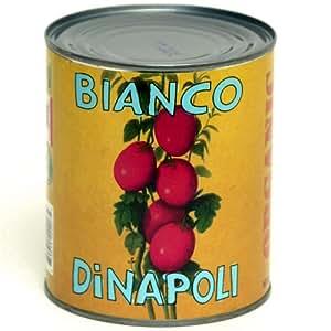 Bianco DiNapoli Organic Whole Peeled Tomatoes 28 oz (Pack of 4)