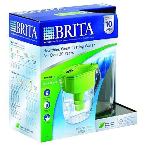 Brita 35378 Green Brita® Grand Pitcher Water Filtration System by Brita