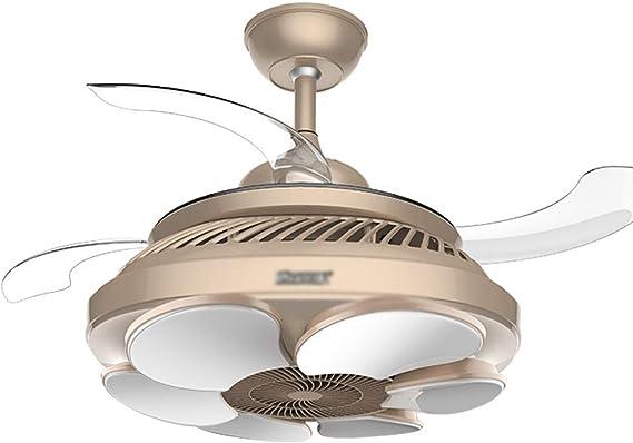 Lámparas de araña Ventilador De Techo Lámpara De Araña De ...