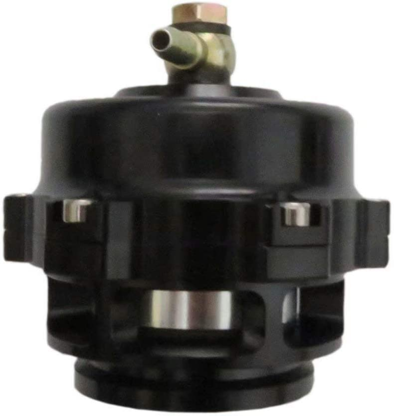 50mm V-Band Blow Off Valve Dump Valve BOV with Aluminum Flange Universal Black