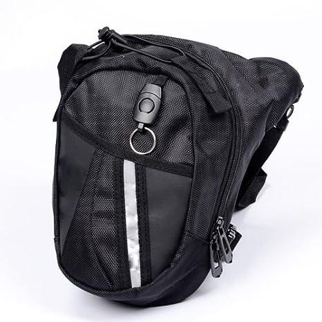 Skyworld Bolso de Cintura, Bolso Para Piernas Fanny Waist Pack Carreras de Motos Cintura Bolso de Cintura Para Ir de Excursión: Amazon.es: Deportes y aire libre