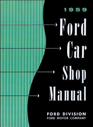 1959 Ford Car Shop manual ()